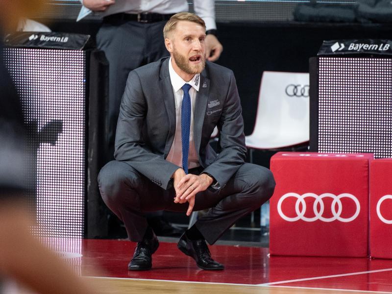 Trainer Tuomas Iisalo verlängerte seinen Vertrag in Crailsheim