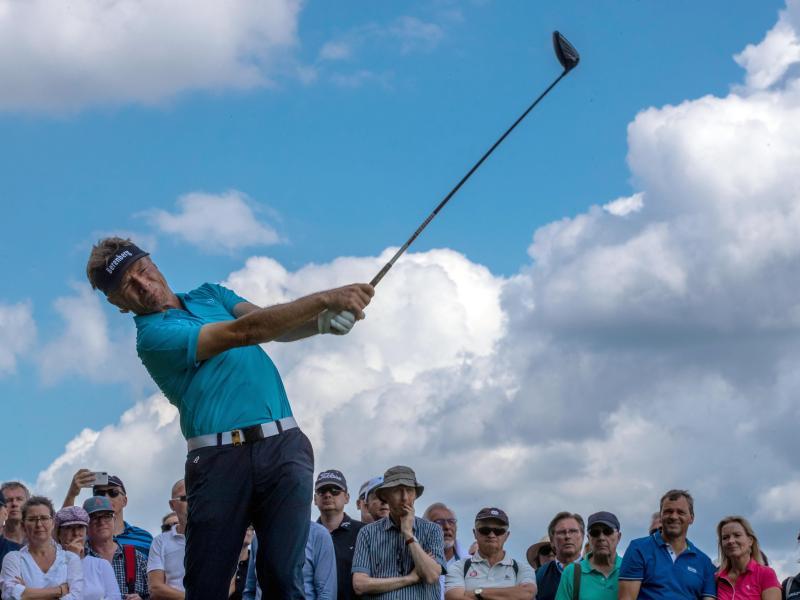 Bernhard Langer schied beim PGA-Comeback vorzeitig aus