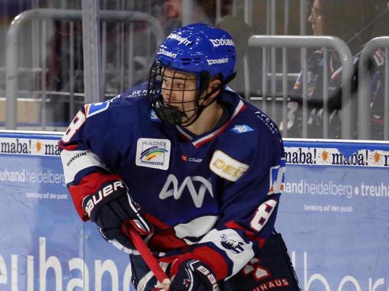 Tim Stützle hofft, im Draft unter den Top-3-Spielern zu sein