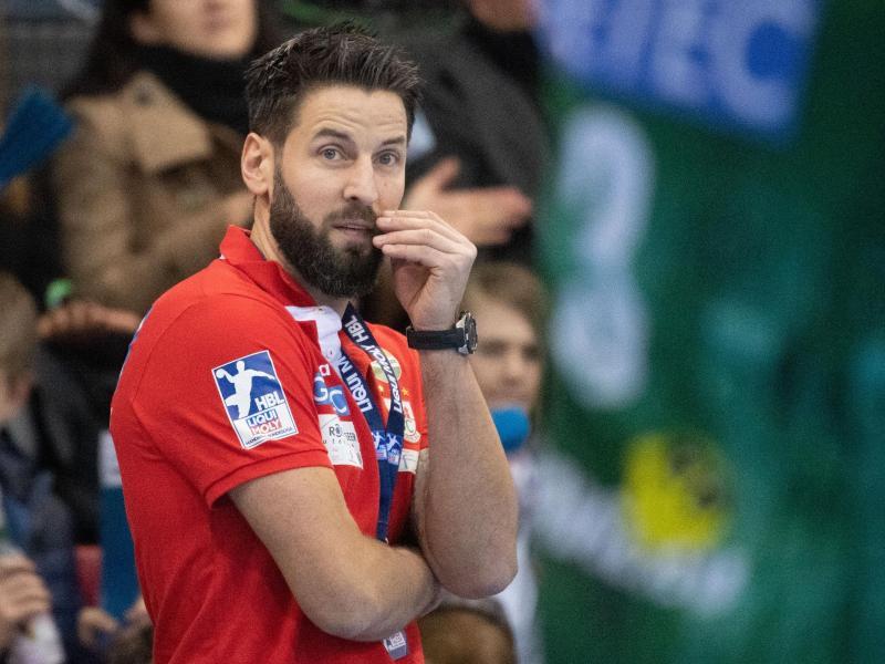 """Drängt auf """"klare Aussagen"""" für die kommende Handball-Saison: Magdeburgs Trainer Bennet Wiegert"""