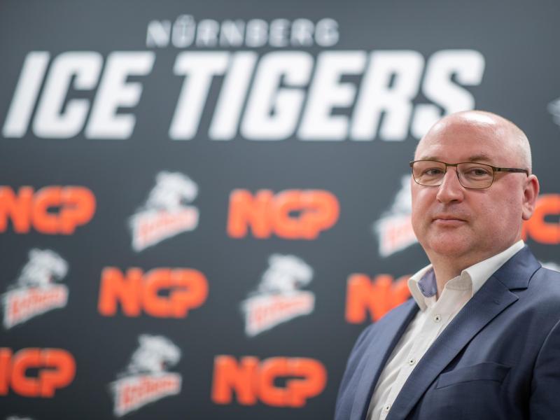 Frank Fischöder wurde als neuer Trainer der Nürnberg Ice Tigers vorgestellt
