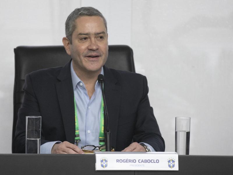 Hatte die Termine für die Wiederaufnahme der brasilianischen Meisterschaft vorgeschlagen: Rogerio Caboclo, Präsident des Brasilianischen Fußballverbandes