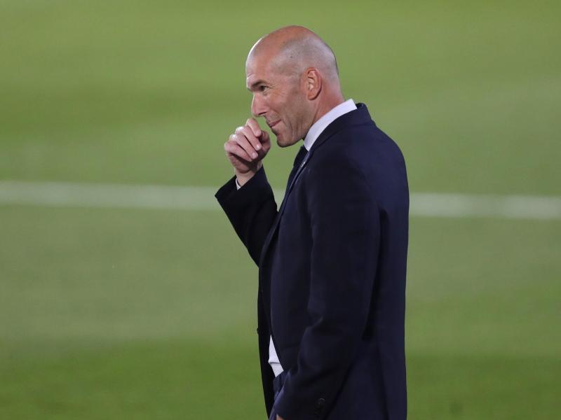 Coach von Real Madrid: Zinédine Zidane