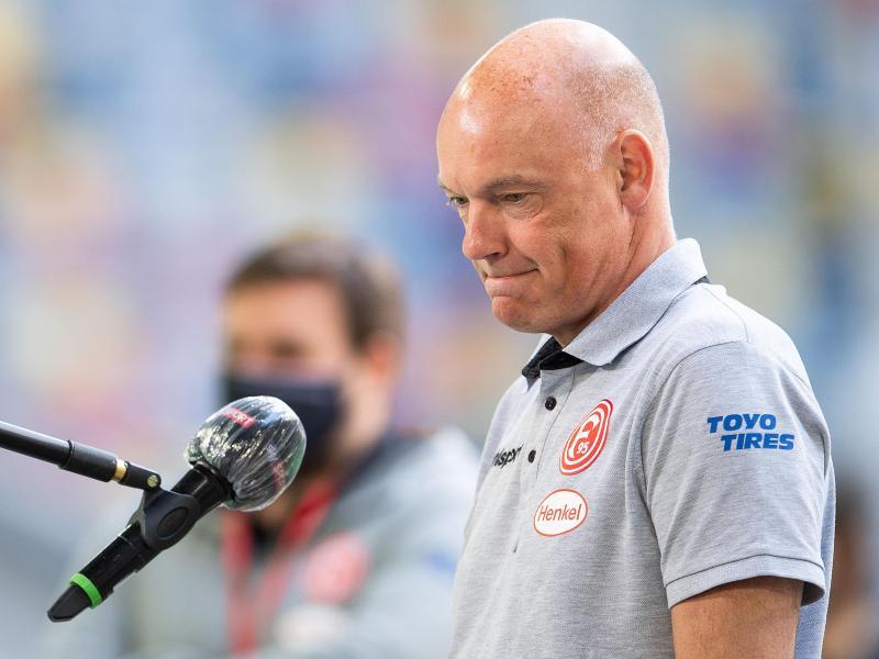 Macht für den Abstieg auch seinen Vorgänger verantwortlich: Fortuna Düsseldorfs Trainer Uwe Rösler