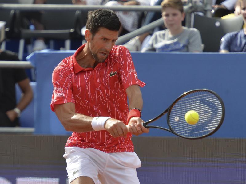Begab sich nach einem positiven Coronatest in Quarantäne: Tennisstar Novak Djokovic