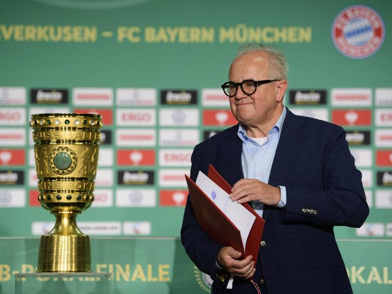 Vermisste die Fans beim Pokalfinale 2020: DFB-Präsident Fritz Keller