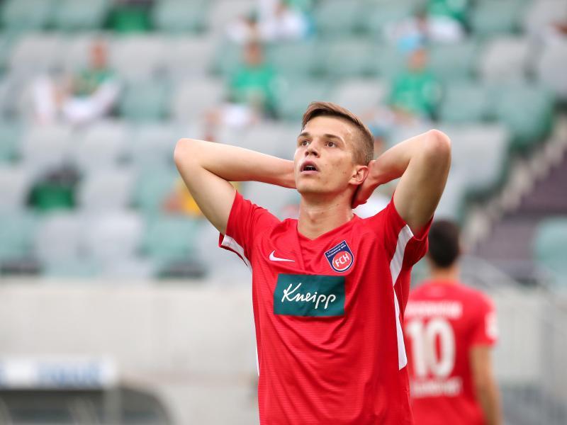 David Otto kehrt vom 1. FC Heidenheim zu 1899 Hoffenheim zurück. Foto: Daniel Karmann/dpa
