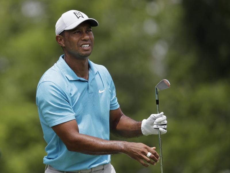 Spielte am zweiten Tag beim Memorial Tournament eine schwache 76er-Runde: Tiger Woods