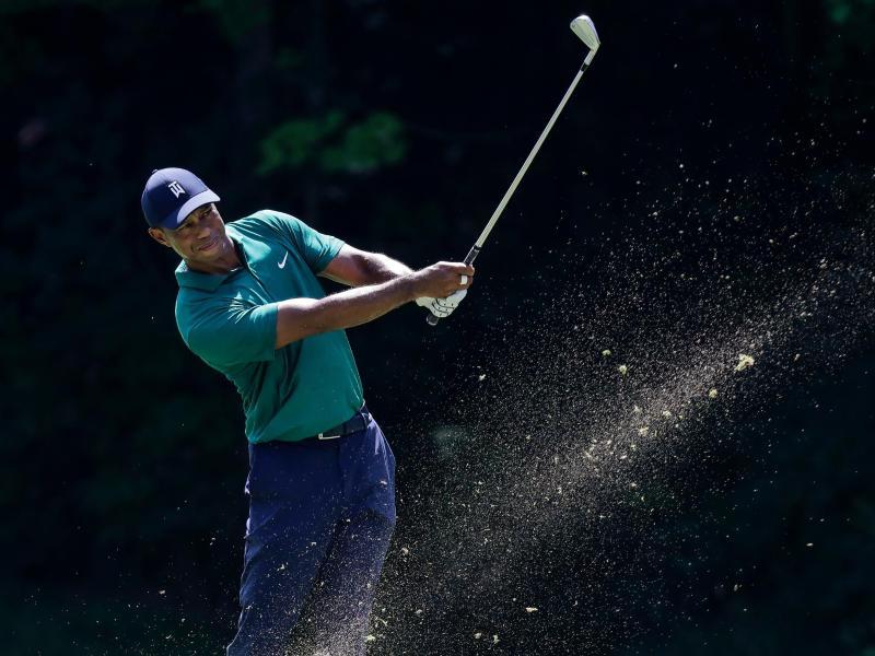 Tiger Woods aus den USA hat am dritten Tag eine 71er-Runde hingelegt