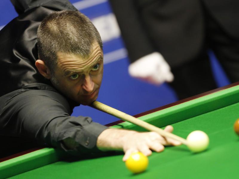 Ist gegen Zuschauer bei der Snooker-WM: Der fünfmalige Weltmeister Ronnie O'Sullivan