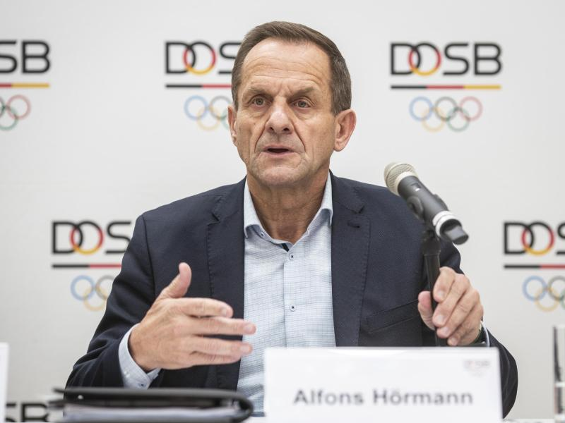 Sorgt sich um die Tokio-Spiele 2021: DOSB-Boss Alfons Hörmann