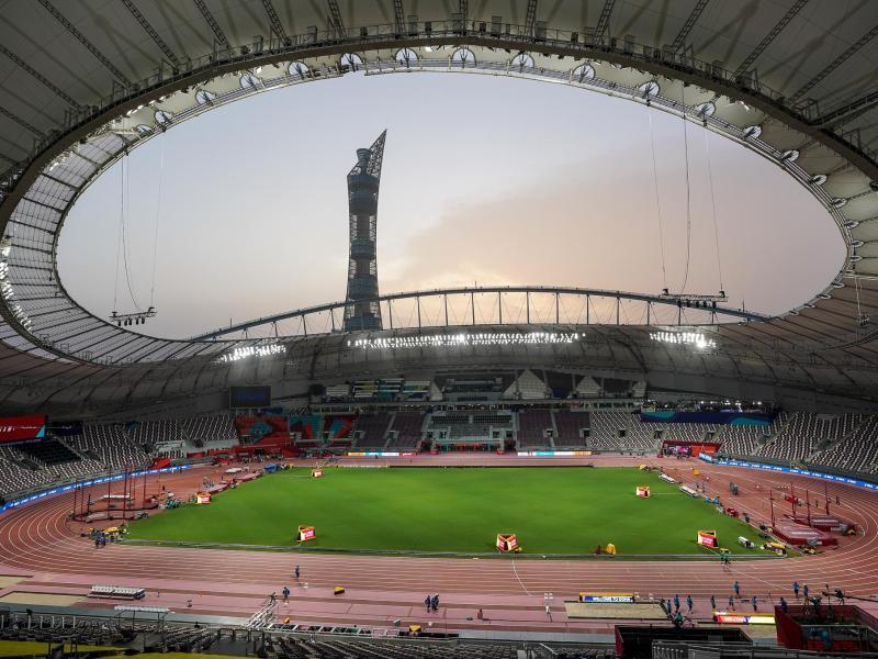 Katar will sich um Olympia 2032 bewerben: Das Khalifa International Stadium