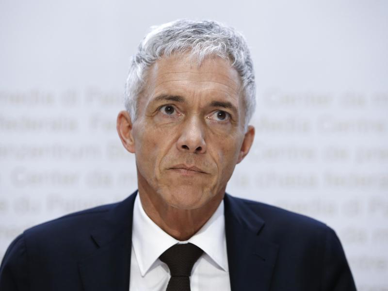 Wird von seinem Amt zurücktreten: Der Schweizer Bundesanwalt Michael Lauber