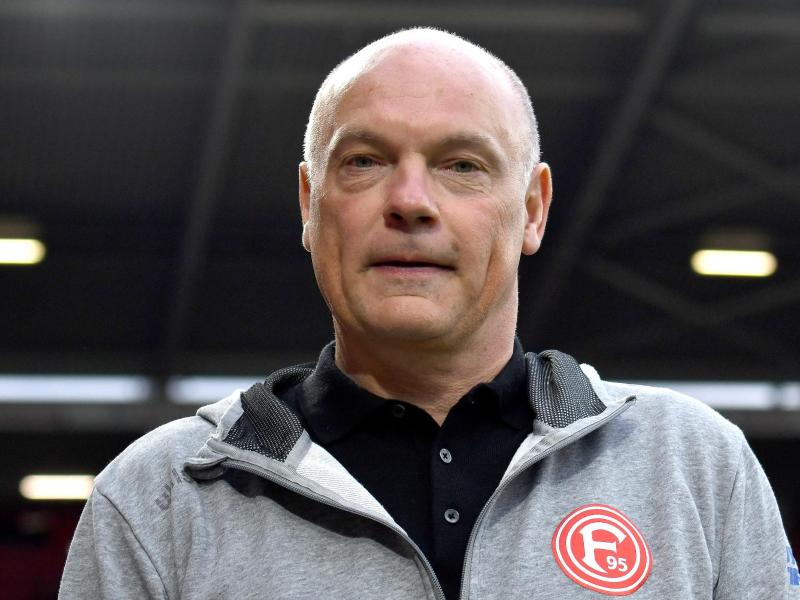 Startet mit Fortuna Düsseldorf die Mission Wiederaufstieg: Trainer Uwe Rösler