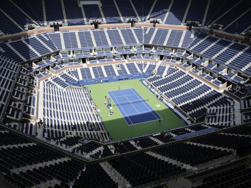 Trotz der Coronavirus-Pandemie sollen die USOpen der Tennisprofis stattfinden