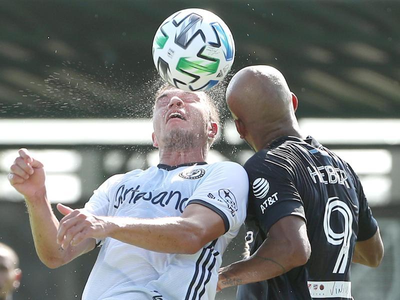 Verpasste mit Philadelphia das MLS-Finale: Kai Wagner (l.)