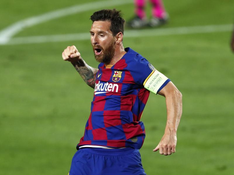 Leo Messi ist beim FC Barcelona das Um und Auf