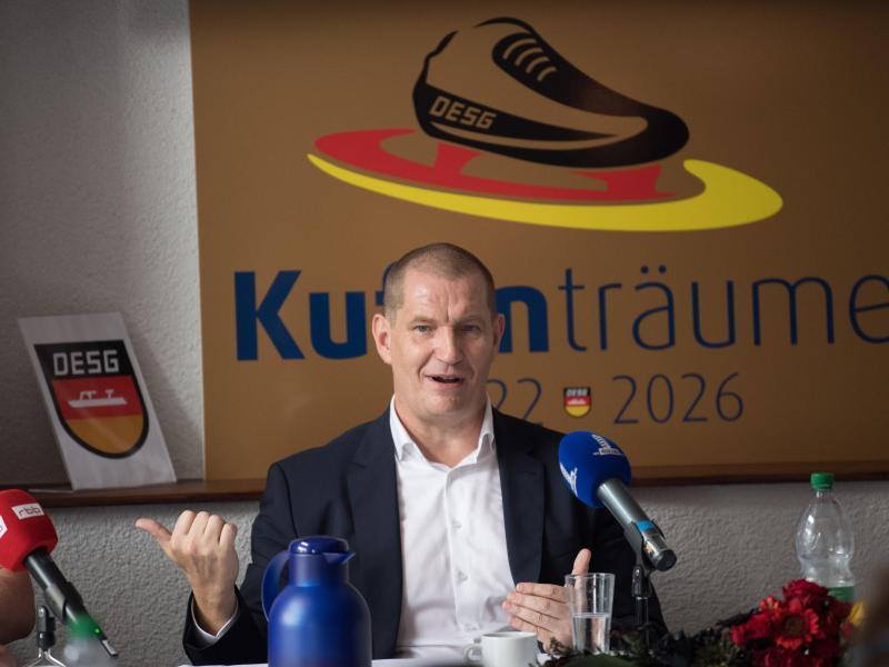 Matthias Große ist neuer Eisschnelllauf-Präsident