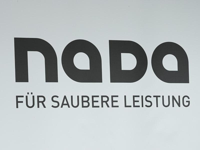 Das Logo der Nationalen Doping-Agentur Nada