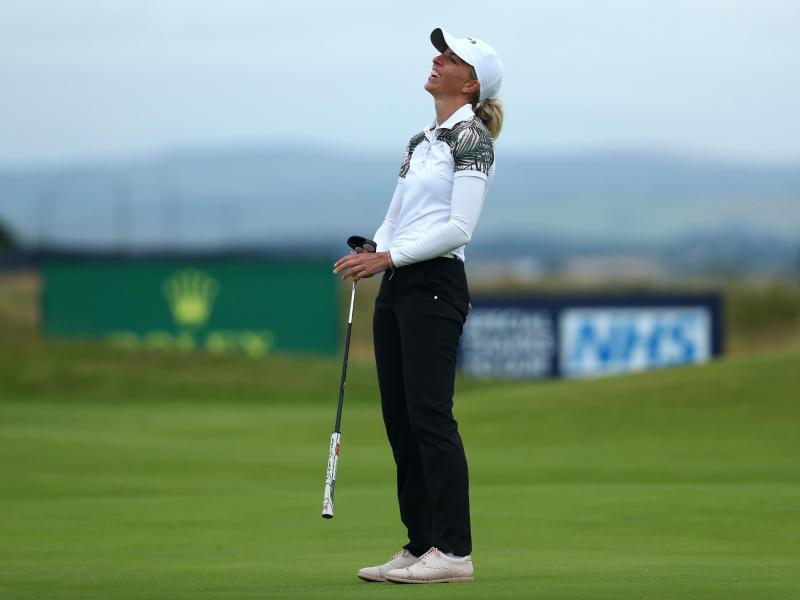 Golferin Sophia Popov ist die Siegerin der British Open 2020