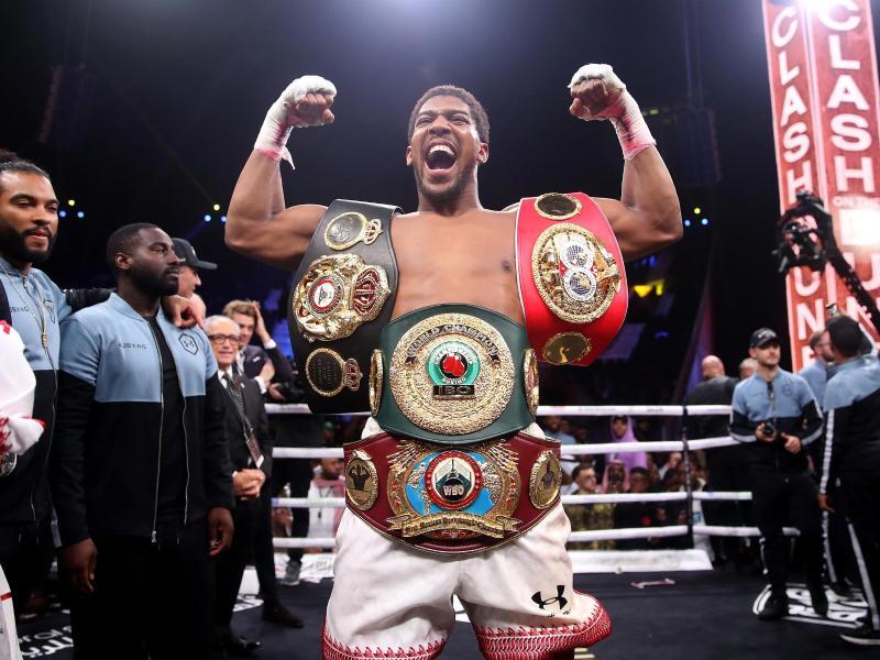 Weltmeister Anthony Joshua steigt wieder in den Boxring