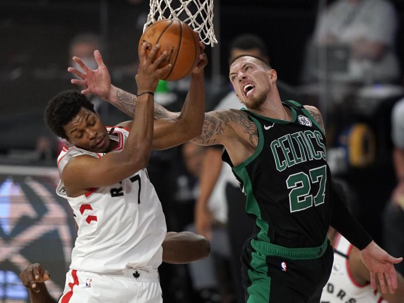 Daniel Theis und die Boston Celtics führen 2:0 gegen den Champion