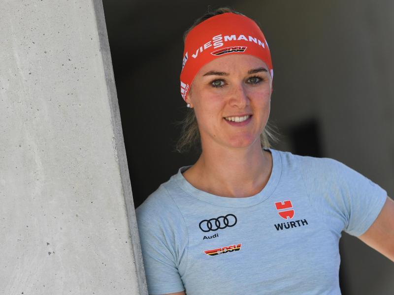 Sorgt sich um die Wintersaison: Top-Biatlethin Denise Herrmann