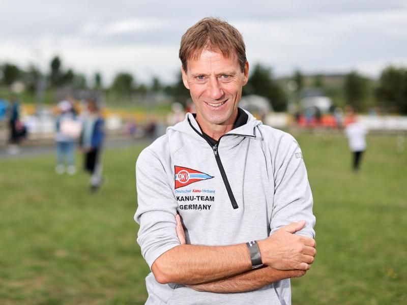 Klaus Pohlen, Chef-Bundestrainer im Kanuslalom