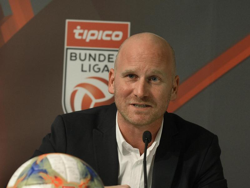 Christian Ebenbauer, Vorstand von Österreichs Fußball-Liga