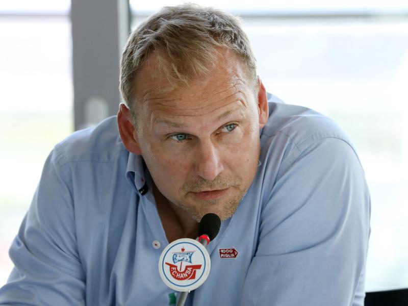 Martin Pieckenhagen, Vorstand Sport vom FC Hansa Rostock