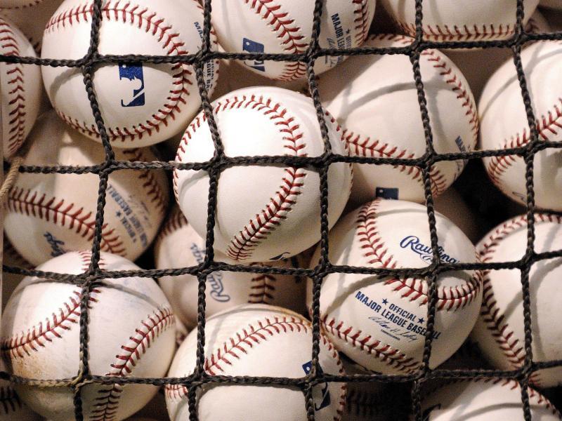 Die Major League Baseball plant Playoffs in Blasen. Foto: epa Wise/EPA/dpa