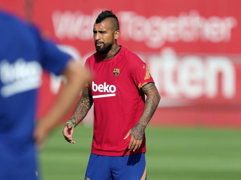 Steht vor einem Wechsel nach Italien: Barcelonas Arturo Vidal