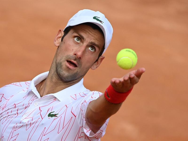 Novak Djokovic ist ins Finale von Rom eingezogen