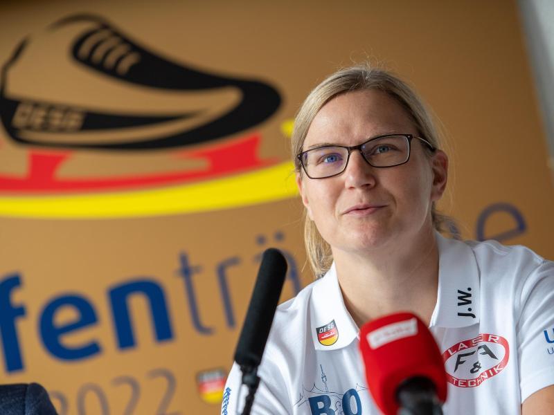 Jenny Wolf ist neue Eisschnelllauf-Bundestrainerin