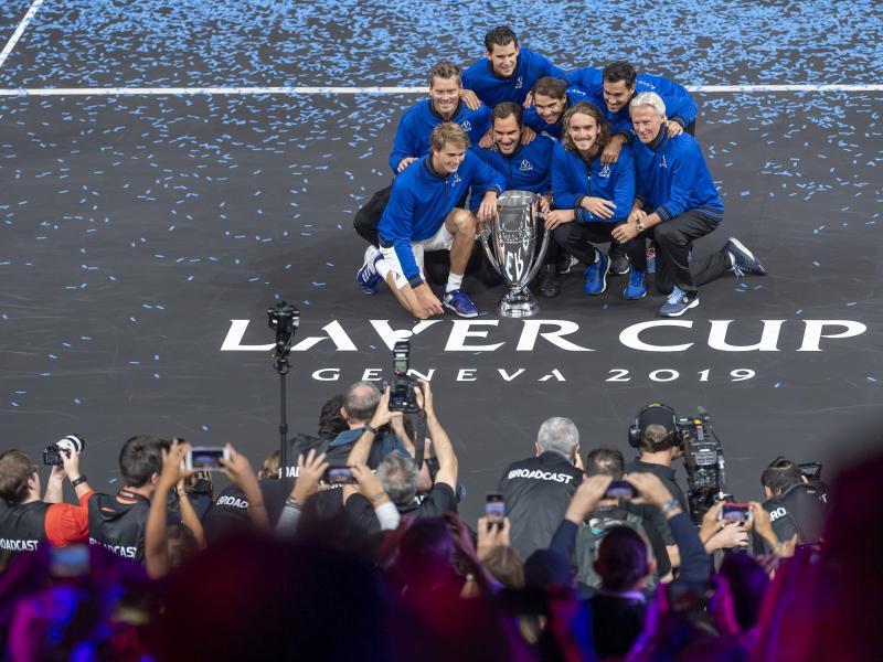 Das Team Europe hatte 2019 den Laver Cup in Genf gewonnen