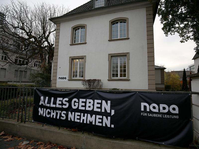 Die Zentrale der Nationalen Anti Doping Agentur in Bonn