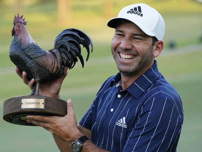 Sergio Garcia gewann zum elften Mal auf der PGA Tour