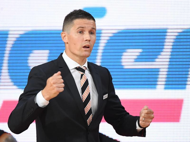 Kassierte mit Ratiopharm Ulm in Paris eine Niederlage: Trainer Jaka Lakovic