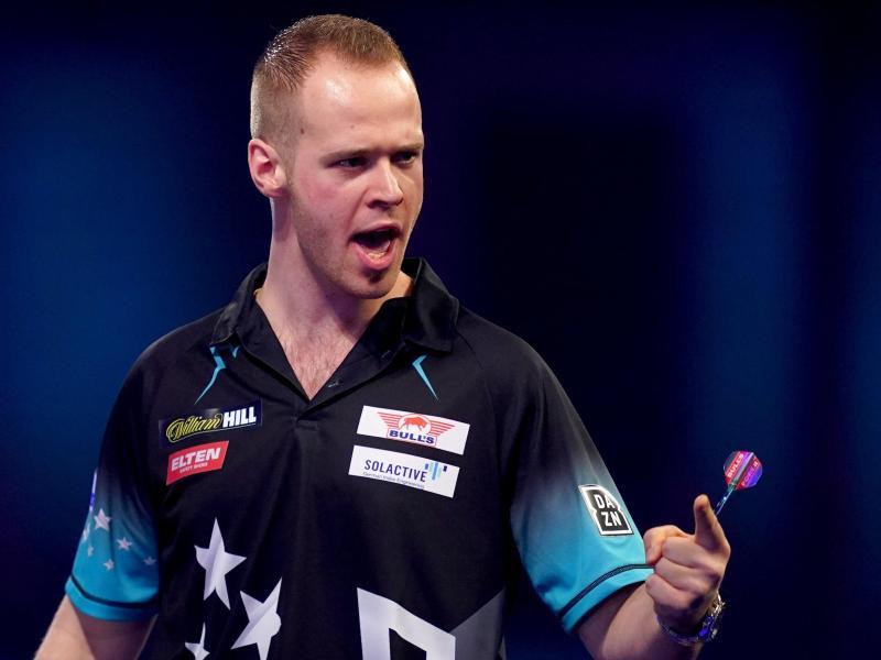 Tritt bei der WM der Darts-Profis in Österreich an: Max Hopp