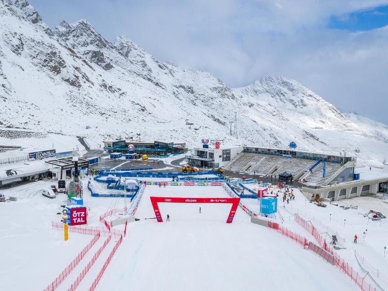 Die Ski-Alpin-Saison startet in Sölden
