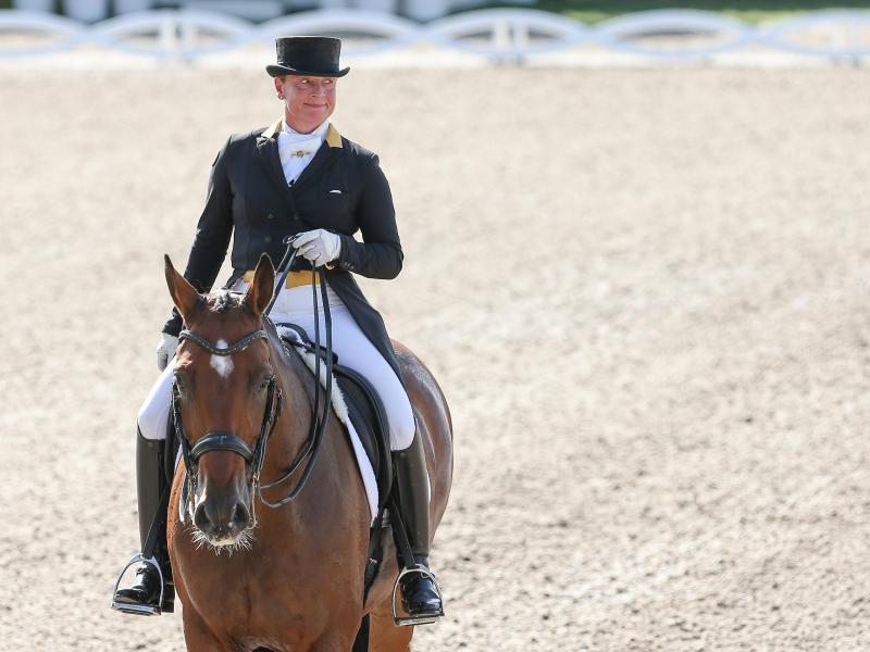 Isabell Werth und Pferd Emilio verpassten den Sieg im dänischen Vilhelmsborg nur knapp