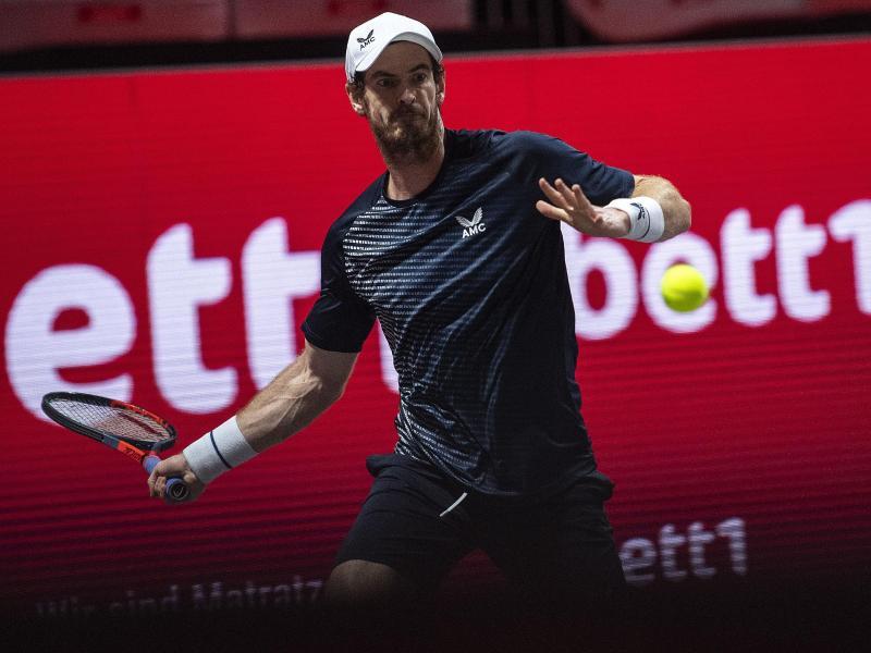 Andy Murray wird wegen Hüftproblemen nicht am zweiten Turnier in Köln teilnehmen