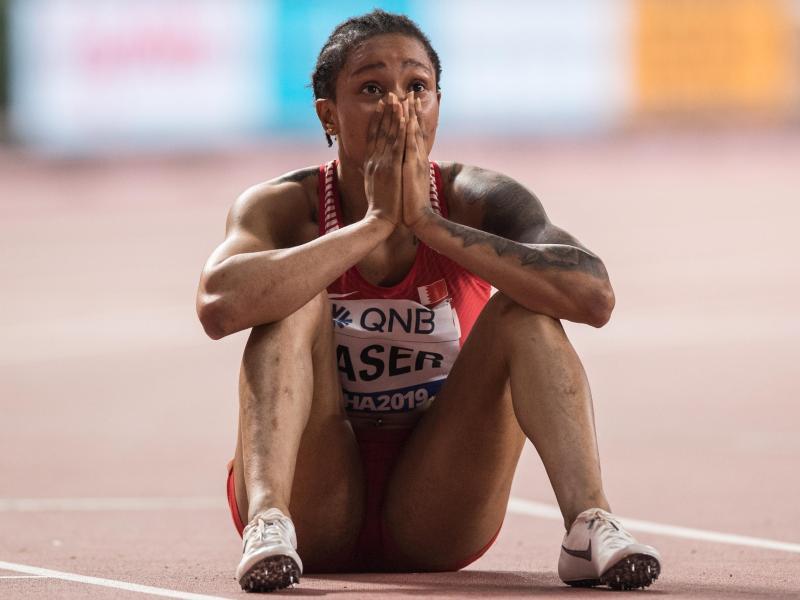 400-Meter-Weltmeisterin Salwa Eid Naser hatte gegen die Meldepflicht für Doping-Tests verstoßen