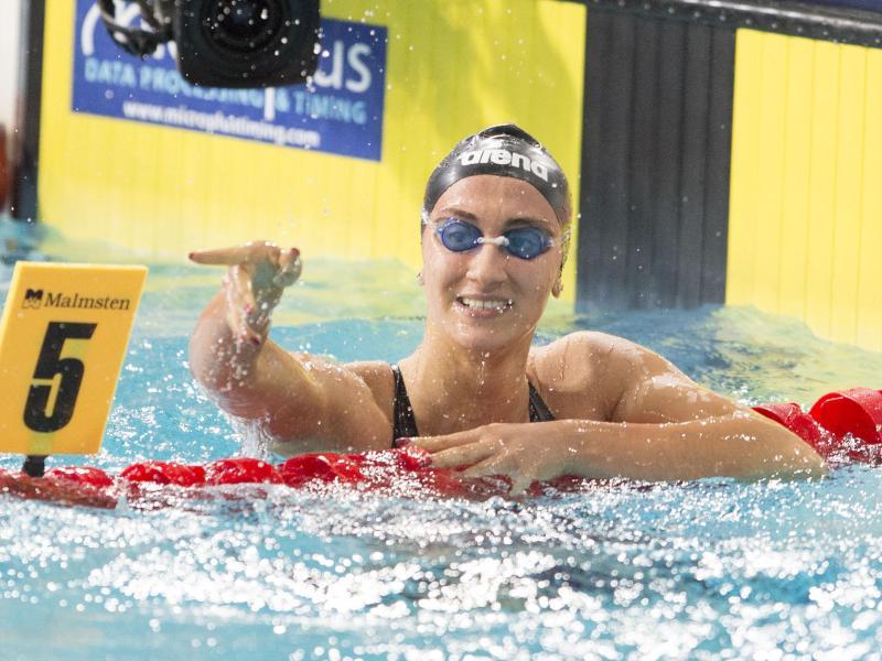 Auch Simona Quadarella soll unter den Infizierten im italienischen Schwimm-Team sein