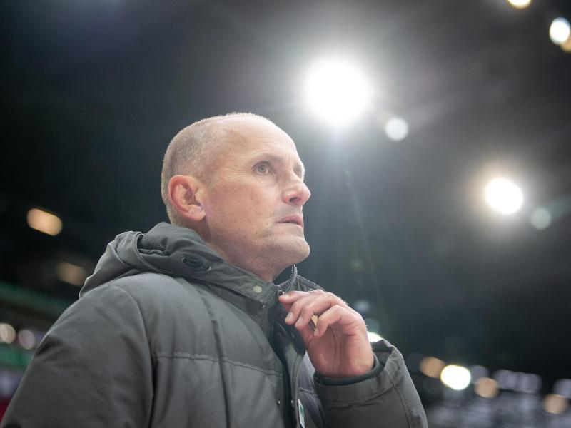 Ist bei seinem Ex-Klub Leverkusen noch gern gesehen:FCA-Coach Heiko Herrlich