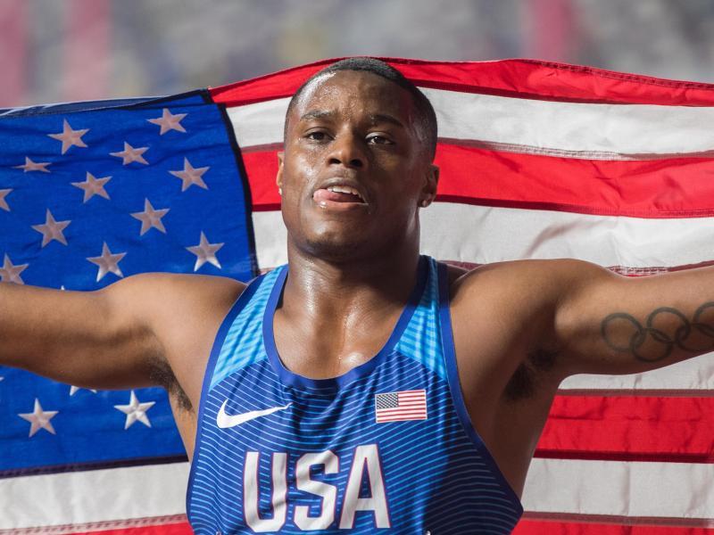 Wurde wegen drei verpasster Dopingtests gesperrt: Christian Colema