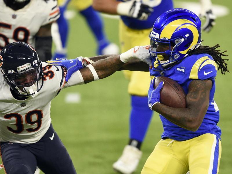 Harter Fight zwischen Rams und Bears