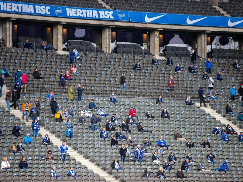 Bei Hertha BSC und Union Berlin waren zuletzt einige Fans erlaubt