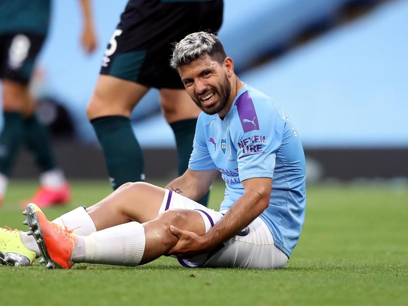 Sergio Agüero wird Manchester City vorerst fehlen