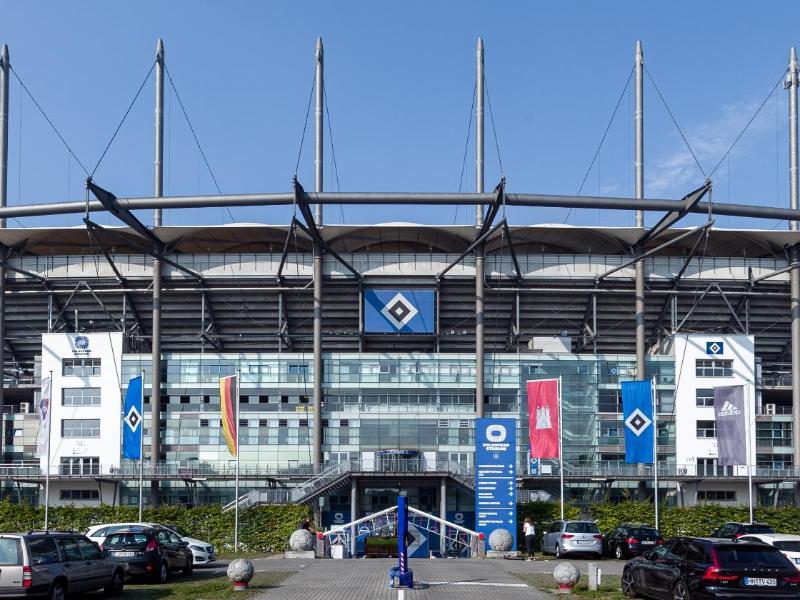 Das Volksparkstadion im Hamburg wird ein ruhiges Derby erleben